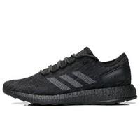 adidas 阿迪达斯 PureBOOST CM8304 跑鞋 (一号黑/固态灰/高光红/橙黄、41、UK7.5码)