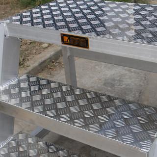 瑞居登高梯仓库取货梯子登高车理货梯货架取货登高梯物流梯三步搭脚梯760*800*805