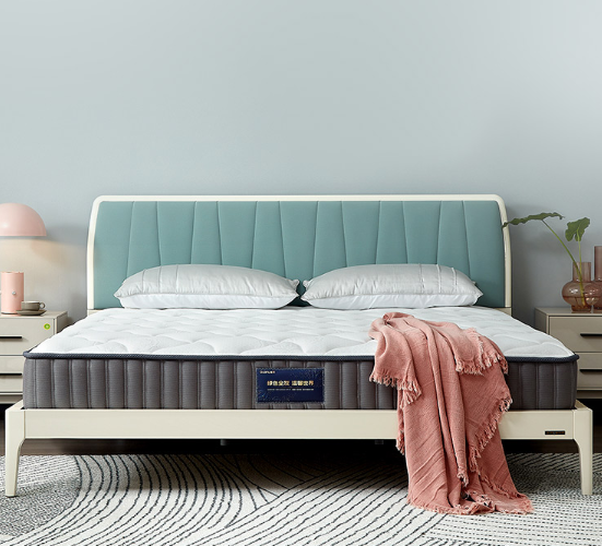 全友家居 天然乳胶床垫双人大床弹簧床垫105170 床垫1.8米