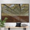 刘涛 原作《荒园》 新中式轻奢艺术品 布面油画 195x130cm