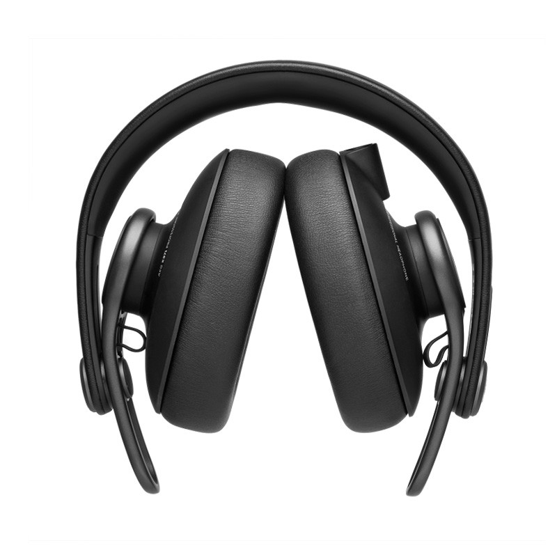 AKG 爱科技 K371 全封闭头戴监听耳机 黑色