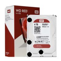 Western Digital 西部数据 红盘 NAS硬盘 4TB 64MB 5400rpm WD40EFRX