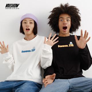 VIISHOW x 哆啦A梦联名款 男女同款长袖T恤