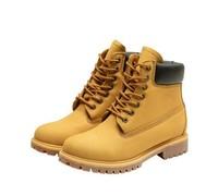 考拉工廠店 高幫戶外大黃靴男女同款防水耐磨