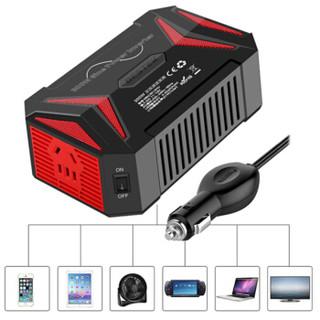百事泰(BESTEK) MRZ3012HU纯正弦波逆变器12V转220V 300W大功率 车载USB充电器电源转换器汽车插座