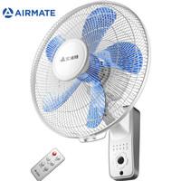 艾美特(Airmate)電風扇 壁扇 工業風扇 五葉遙控 3檔風量 FW4035R