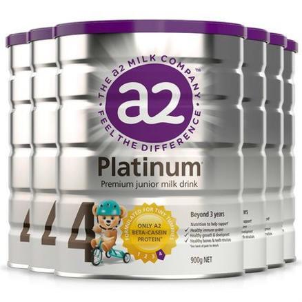 A2 白金系列 婴幼儿配方奶粉 4段 900g