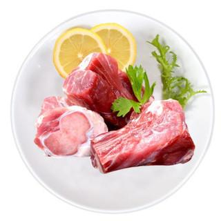 京东PLUS会员 : 金锣 免切猪大骨块 1kg *3件