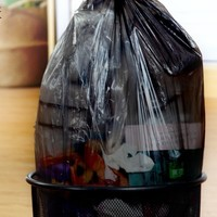BAOJIAJIE 宝家洁 平口彩色塑料袋 45*50cm 100只