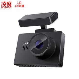 凌度 BLACKVIEW 4K行车记录仪V360 2160P高清夜视 隐藏式语音播报 wifi连接 停车监控