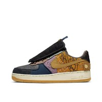 Nike Air Force 1 x Travis Scott TS 联名鬼脸拼接篮球鞋