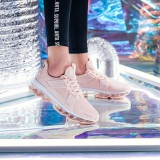 安踏女鞋跑步鞋女春季60th纪念款鞋领航NASA运动鞋女