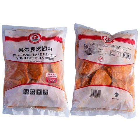PLUS会员:DAJIANG 大江食品  奥尔良烤鸡翅中 1kg
