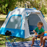 MOBI GARDEN 牧高笛 EX19561004 户外自动速搭帐篷 +凑单品