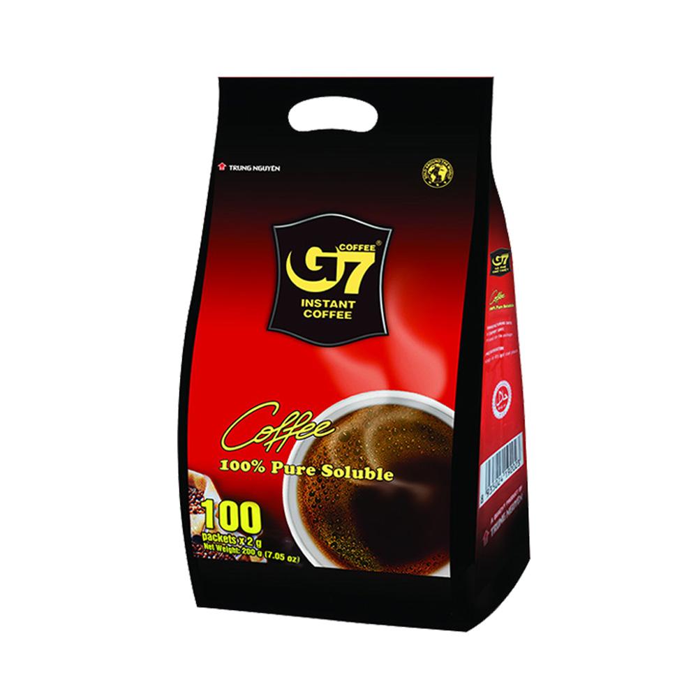 88VIP : G7 COFFEE 中原咖啡 速溶黑咖啡 200g *2件