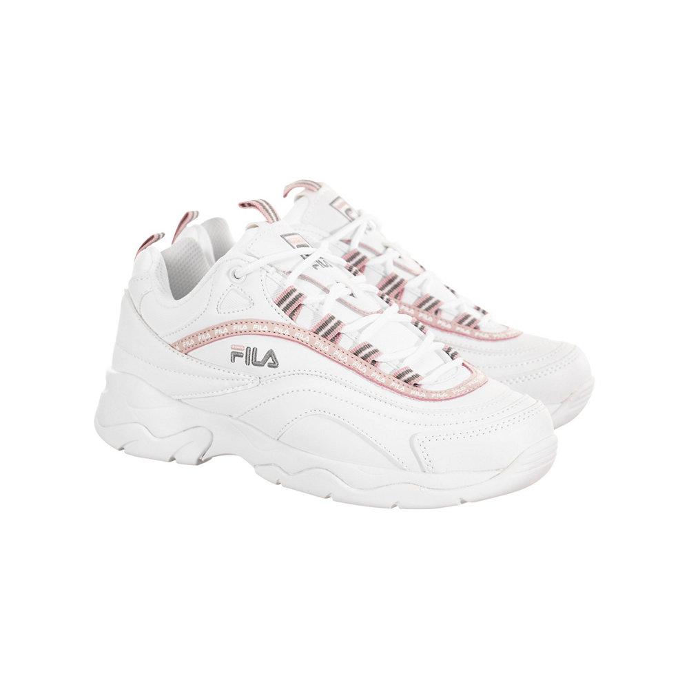 美国直邮FILA Repeat 斐乐女鞋 复古跑步鞋老爹鞋运动休闲鞋