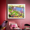 正版限量丝网版画 109x135cm 艺术收藏品 装饰画