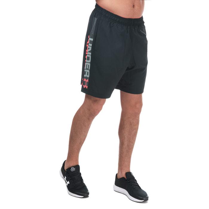银联专享 : UNDER ARMOUR 安德玛 Woven Wordmark 男士短裤