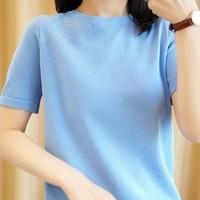 茜欧莉 96312 女士短袖T恤