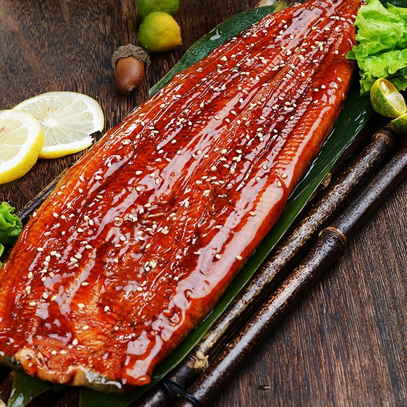 鲜拔头筹  即食日式蒲烧鳗鱼  500g