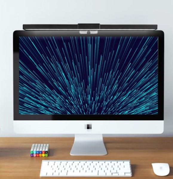 Midea 美的 MTD4.5-M/K-18 LED屏幕挂式台灯 明雅长款