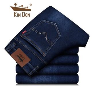京东PLUS会员 : 金盾 KIN DON 男士牛仔裤 *2件