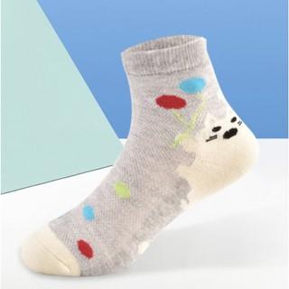 Langsha 浪莎 儿童袜子 6双装
