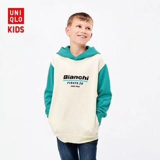 UNIQLO 优衣库 儿童The Brands连帽运动衫