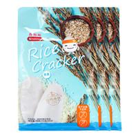 脆妮妮稻鸭米饼 磨牙儿童零食饼干 不添加盐和糖 (燕麦味51g*3包)