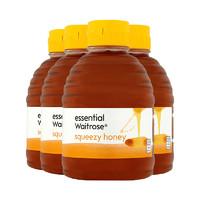 waitrose 维特罗斯 纯清澈蜂蜜 454g*4罐