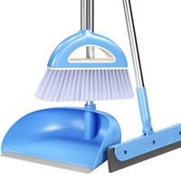 京东PLUS会员 : 雅高 扫把 扫帚簸箕3件套装