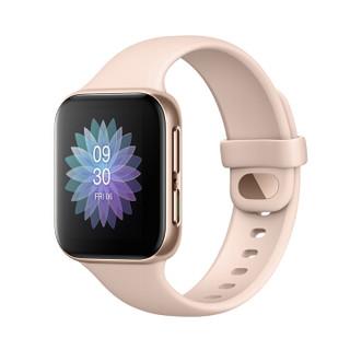 百亿补贴 : OPPO Watch 41mm 智能手表 粉金