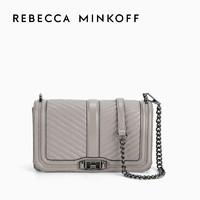 Rebecca Minkoff春季CHEVRON QUILTED LOVE女士单肩斜挎包大号