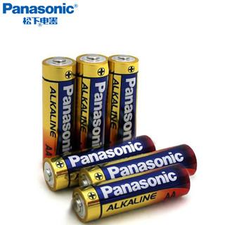 Panasonic 松下 正品 5号/7号碱性电池 6粒装