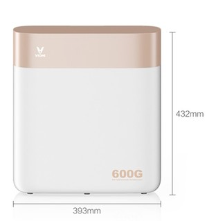 VIOMI 云米 MR632-D RO反渗透无桶净水机 小米白净水器S2 600G 鎏金白