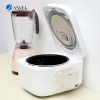 日本进口ASVEL创意饭勺架 多功能置物架厨房家用吸盘式收纳架带盖