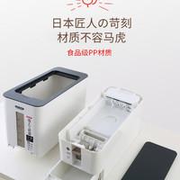 日本Asvel计量米箱米桶防潮防虫容量12kg 6kg 2kg密封储米箱