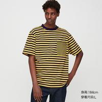 UNIQLO 优衣库 422991 中性款条纹T恤
