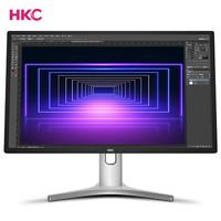 HKC /惠科 T7000 钻石版 27英寸2K高分10.7亿色旋转升降专业设计显示器游戏家用屏幕