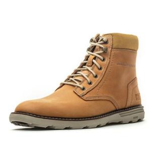 CAT 卡特彼勒 P721913I3UDC25 男士牛皮革休闲靴 黄色 42