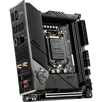 MSI 微星 MEG Z490i UNIFY 暗影板 主板(Intel Z490/LGA 1200)