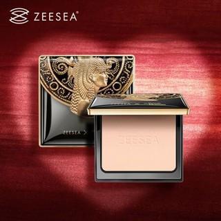 ZEESEA 滋色埃及系列 清透丝盈蜜粉饼自然肤色 13g *3件