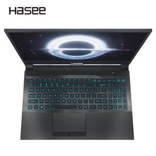 Hasee 神舟 战神 Z7M-CT5NA 15.6英寸游戏笔记本电脑(i5-9300H、8GB、512GB、GTX1650 )
