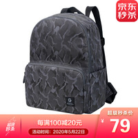 SWISSGEAR 电脑包 时尚双肩包 休闲健身包笔记本背包书包旅行包 SA-9985迷彩灰