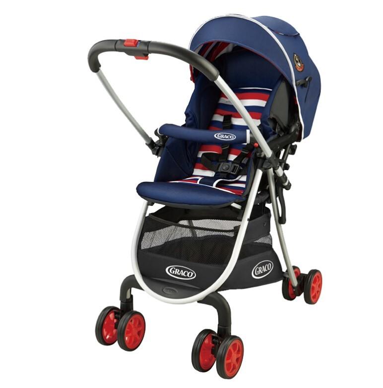 GRACO 葛莱 城市系列 6Y72TCEN 高景观婴儿车 条纹蓝