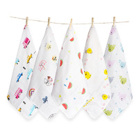 grace 洁丽雅 婴儿口水巾 6条装
