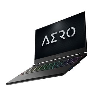 GIGABYTE 技嘉 Aero15 KB 2020款 15.6英寸 游戏本 黑色(酷睿i7-10750H、RTX 2060 6G、16GB、512GB SSD、1080P、IPS、144Hz)