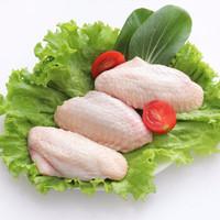QILUXUMU/齐鲁畜牧 冷冻三同产品 烧烤新鲜食材 鸡翅中 1000g *3件