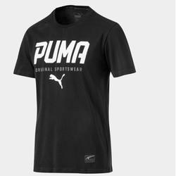 PUMA 彪马 593029 男士印花短袖T恤