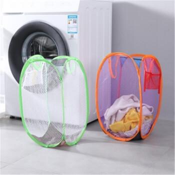 创意卡通脏衣篮可折叠大号洗衣篮收纳篮家用衣物可水洗收纳篓 彩色随机一个